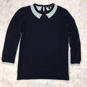 J. Crew Tippi Sweater in Trompe L'oeil Size M